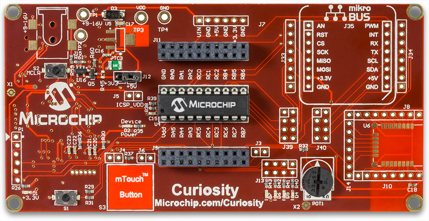 Curiosity Development Board Example - Developer Help