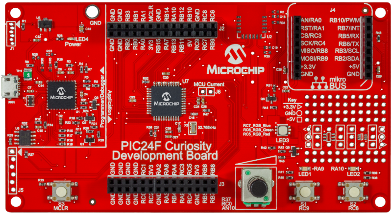 PIC24F Curiosity Development Board - Developer Help